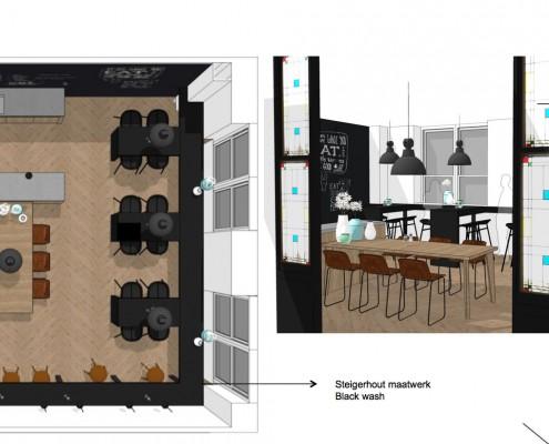 Aanpak interieur - Hilversum Een