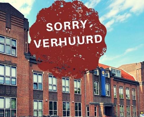 SORRY VERHUURD - Hilversum Een